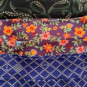 Bundle of 3 Cassie skirts by Lularoe